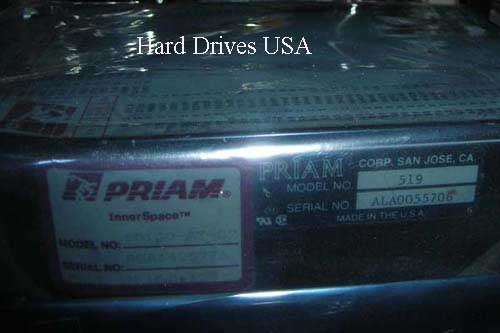 PRIAM 519 MFM hard drive