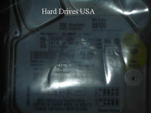 WESTERN DIGITAL AC29100 hard drive