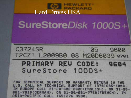 HP C3724SR hard drive